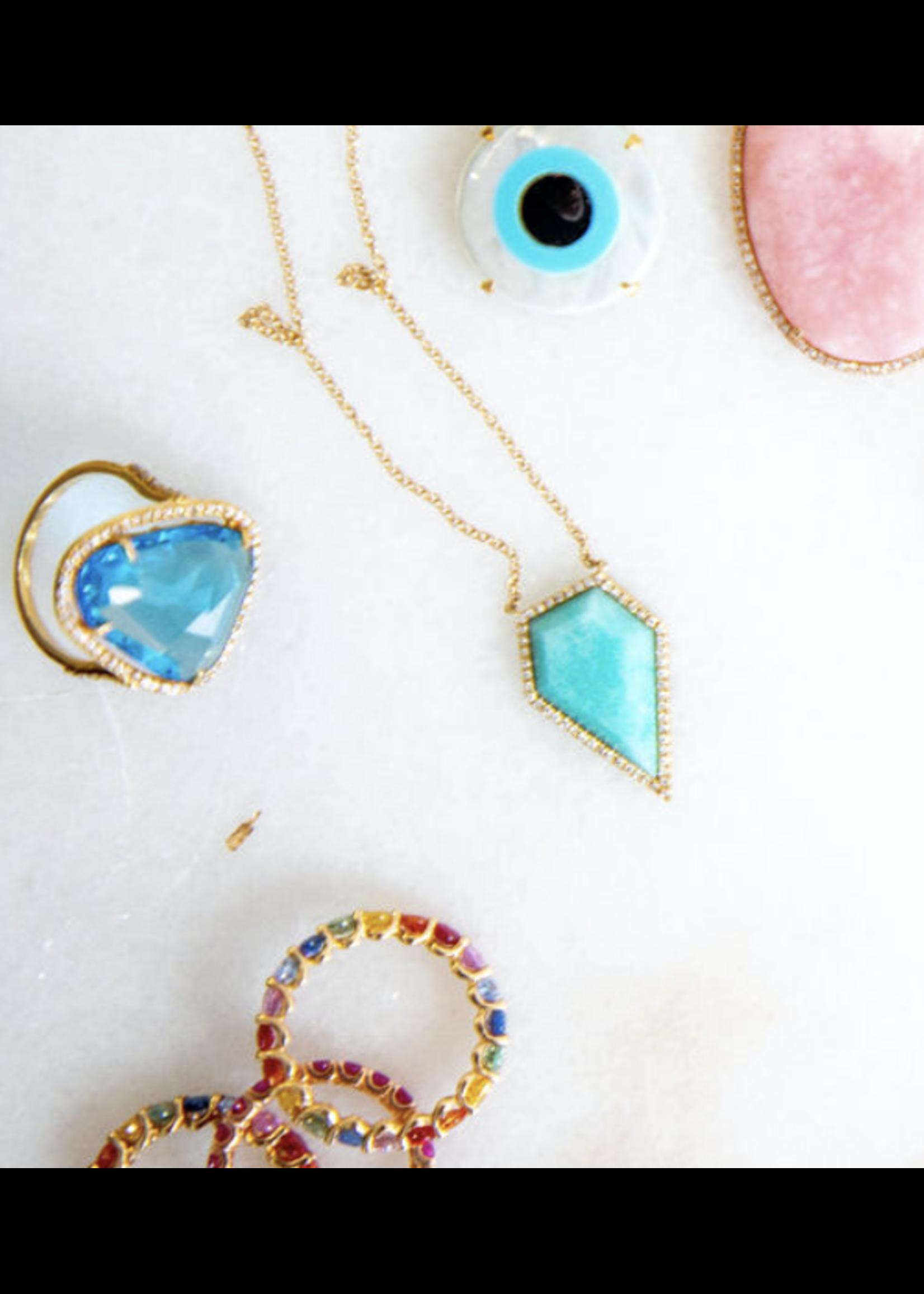 Jill Alberts Blue Topaz Ring