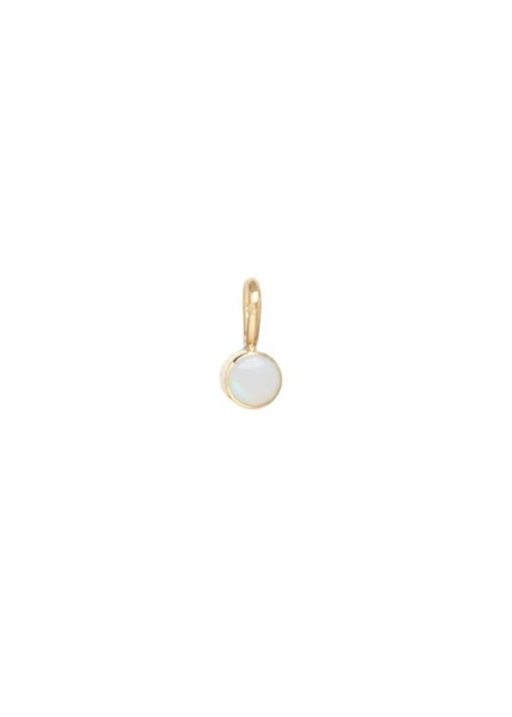 Zoe Chicco Opal Charm Pendant