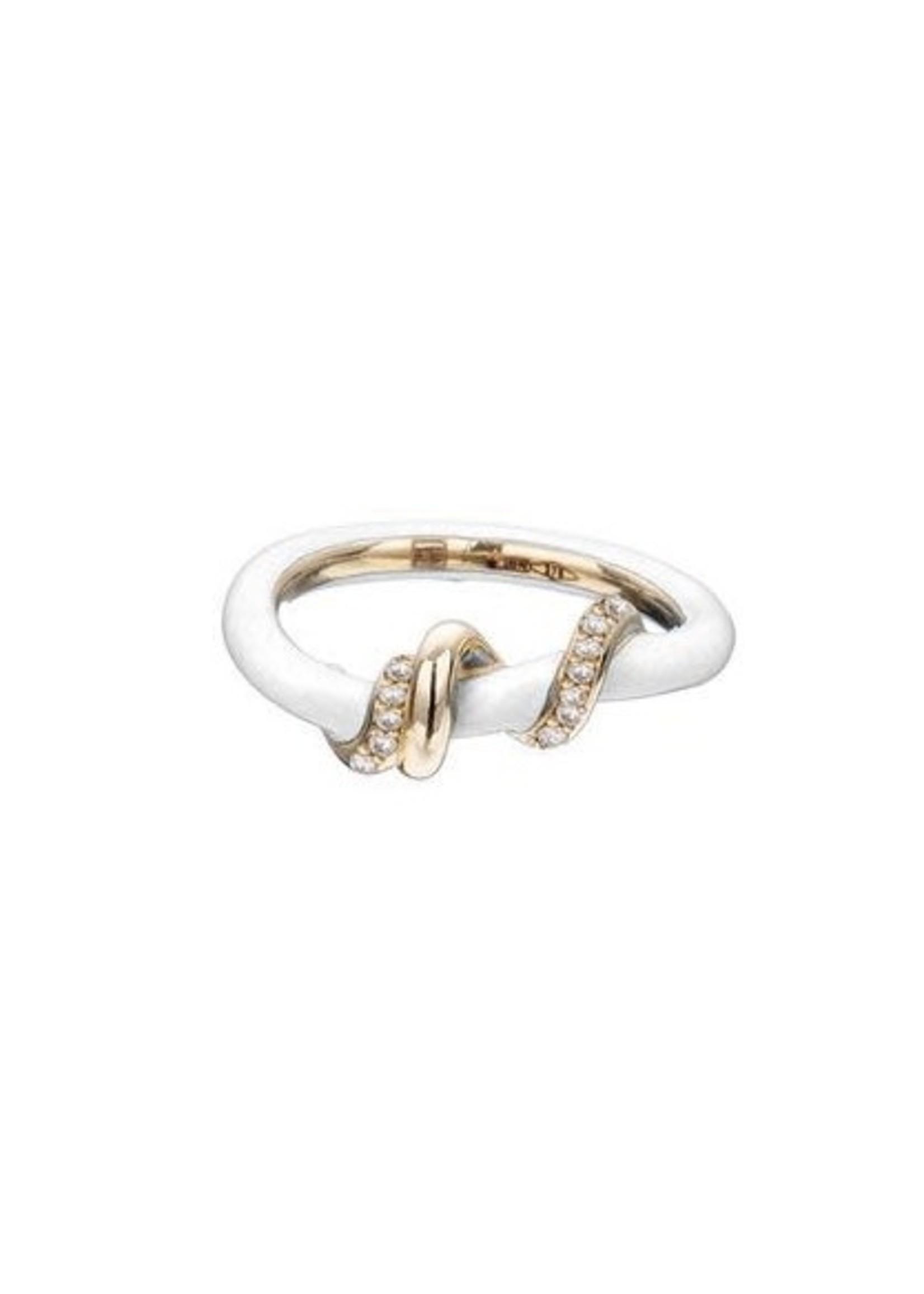 Bea Bongiasca Diamond PaveBaby Vine Wrapped Ring