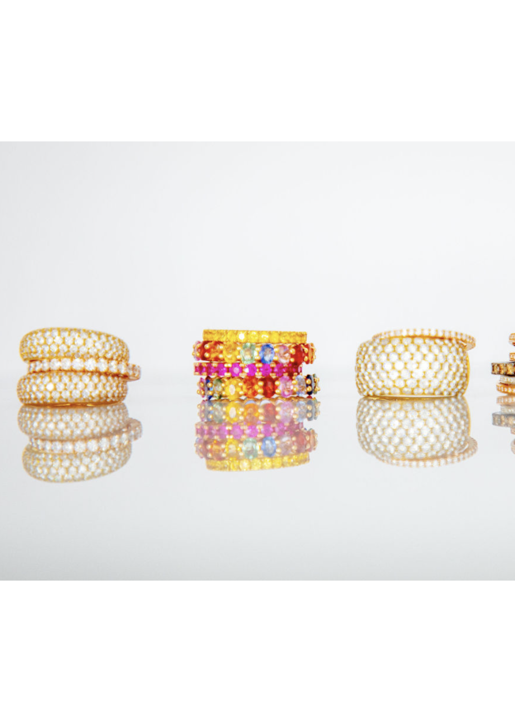Jill Alberts Pink Sapphire Eternity Ring