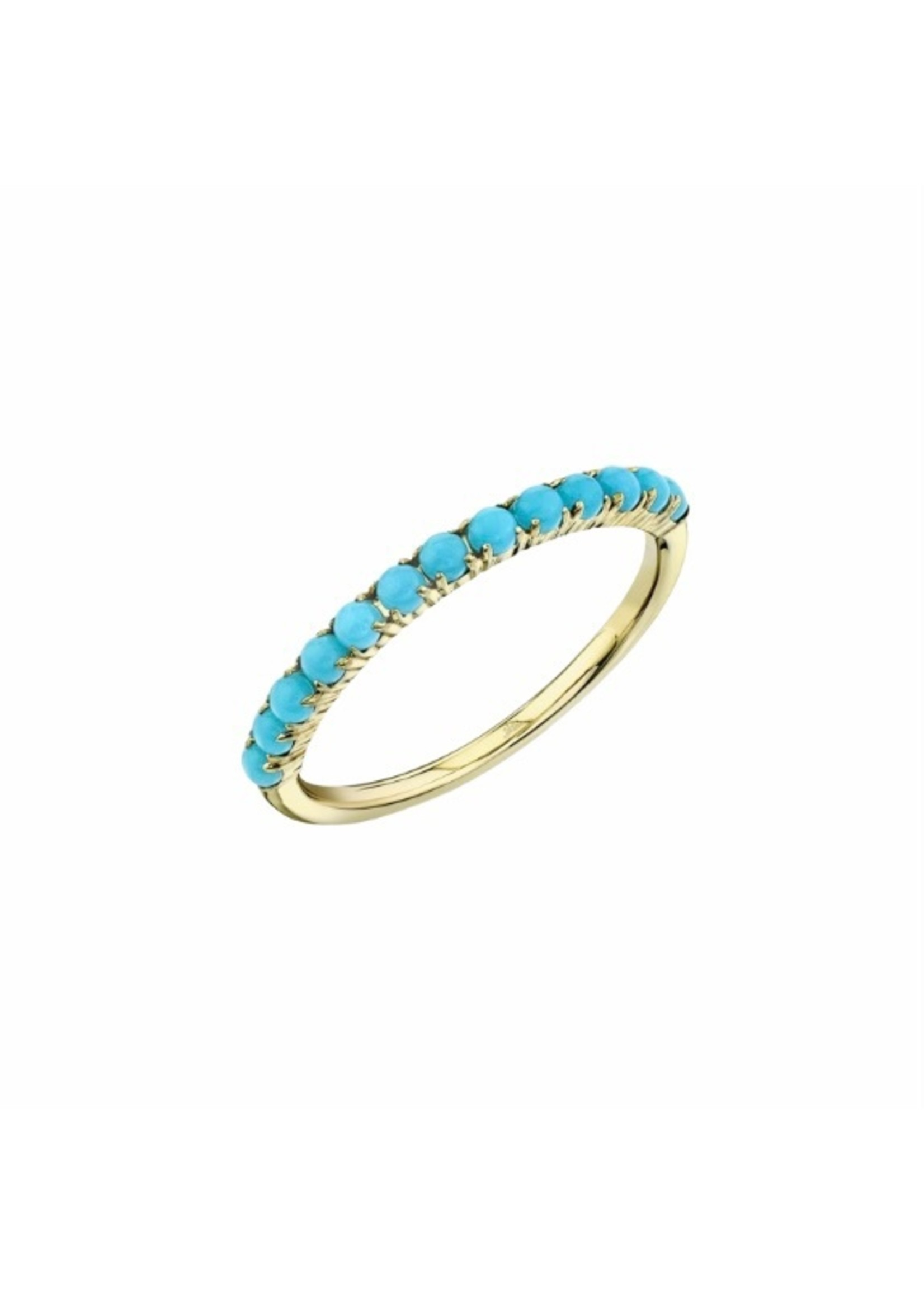 Jill Alberts Composite Turquoise Ring