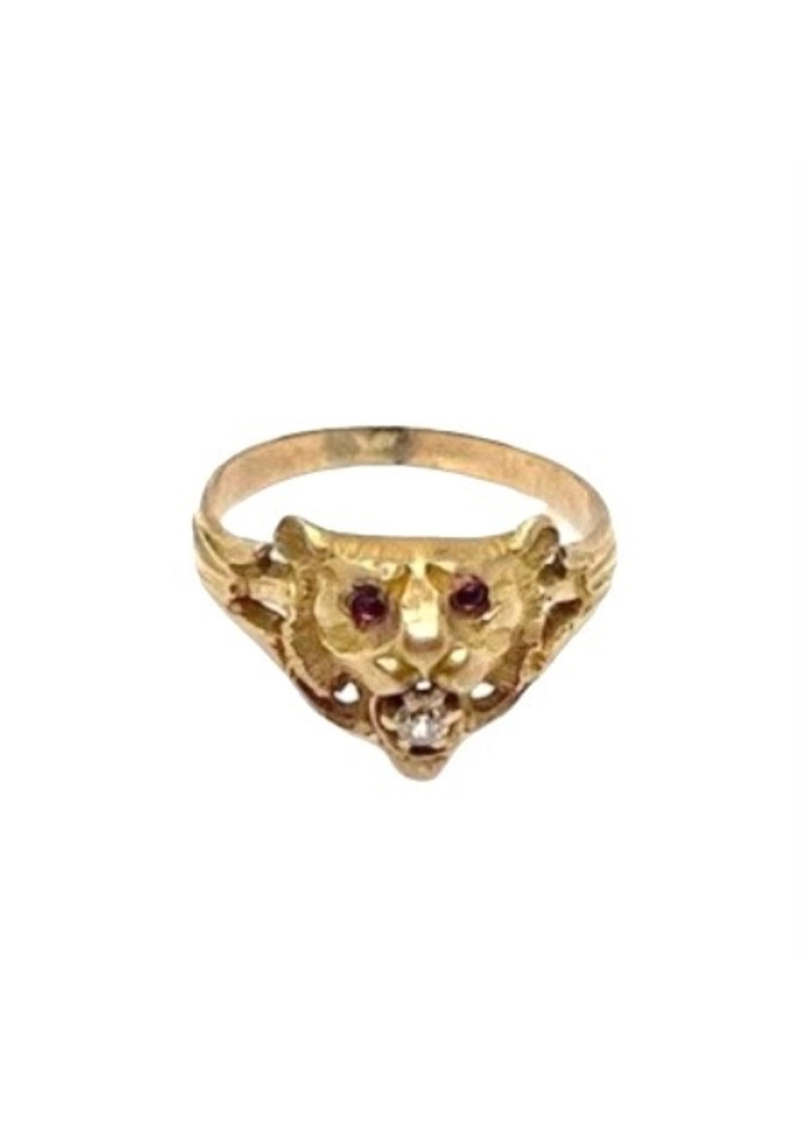 Jill Alberts Diamond Tiger Ring