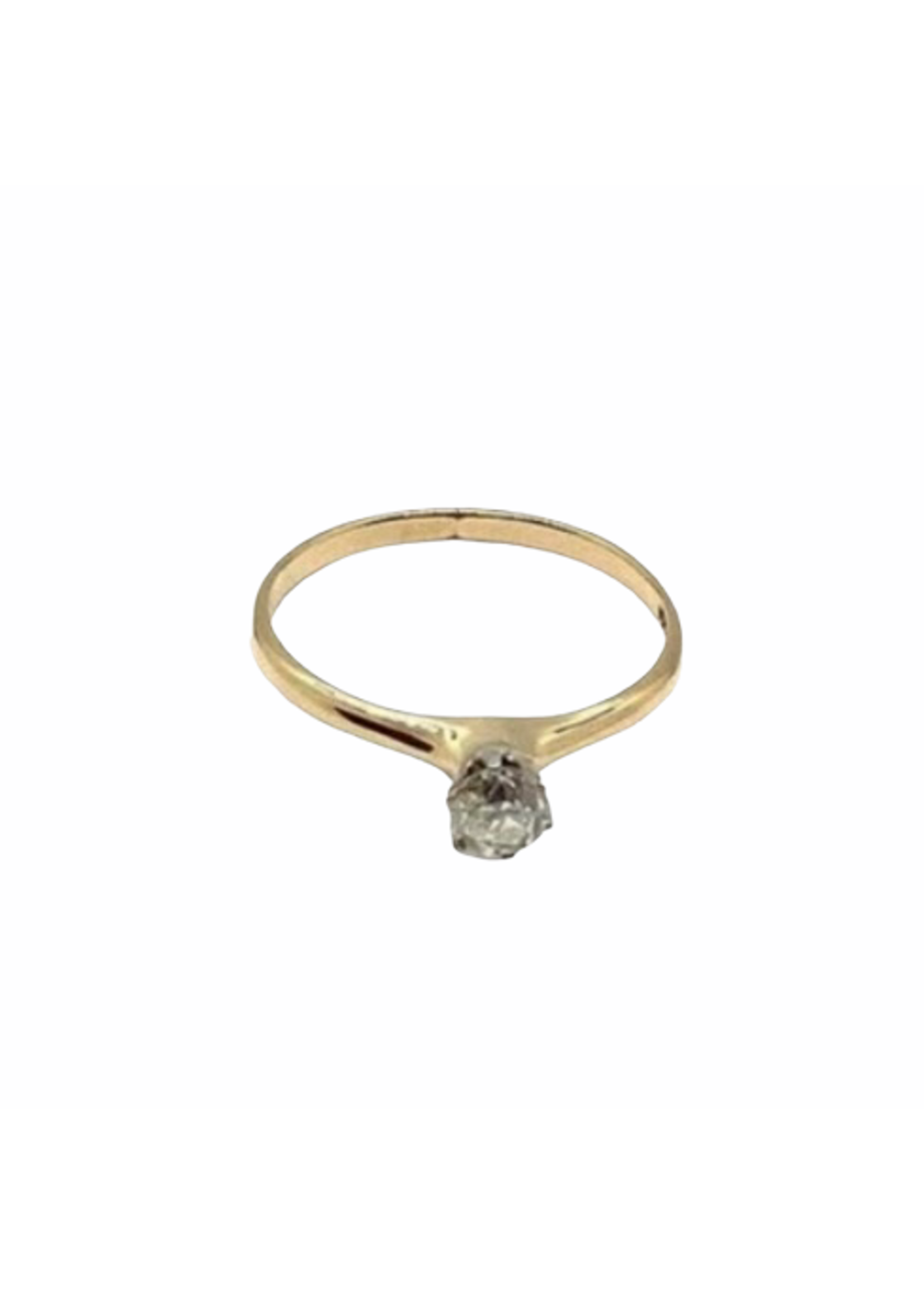 Jill Alberts Diamond Solitaire Ring