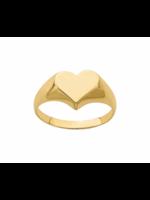 Jill Alberts Heart Signet Ring