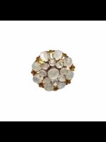 Jill Alberts Moonstone Cluster Ring