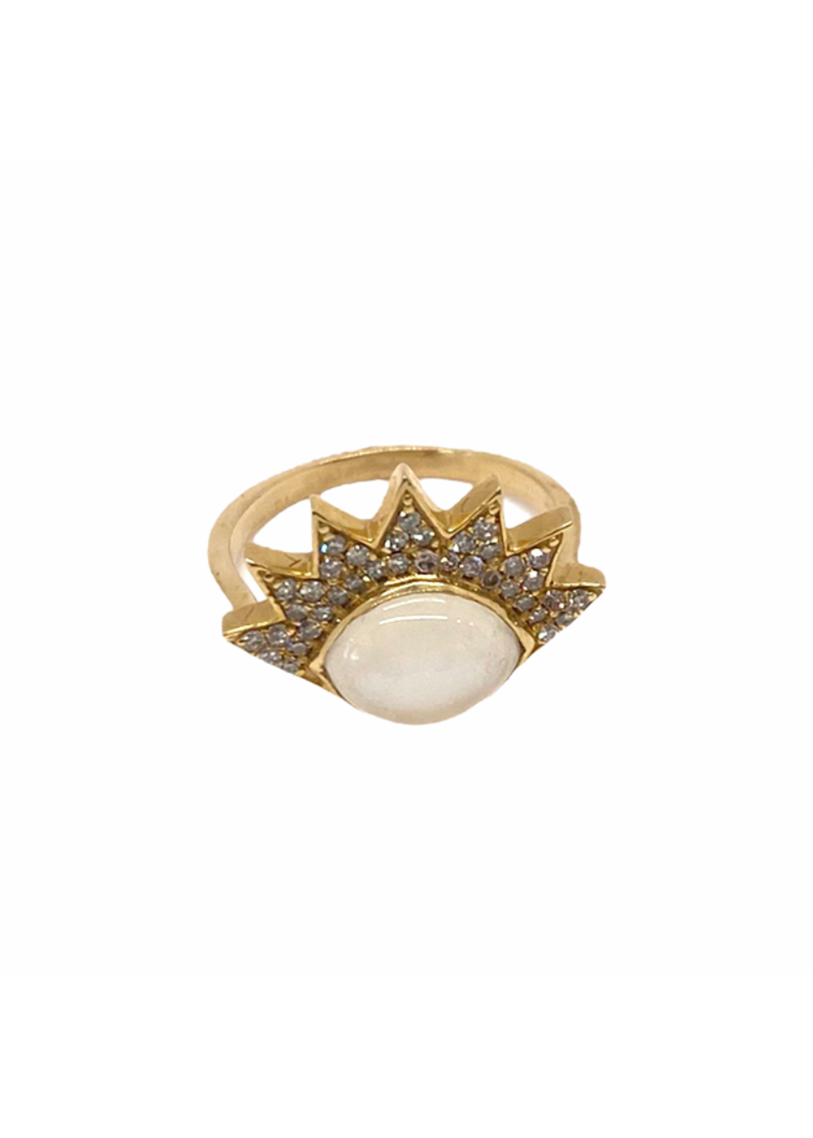 Jill Alberts Moonstone Eye Ring