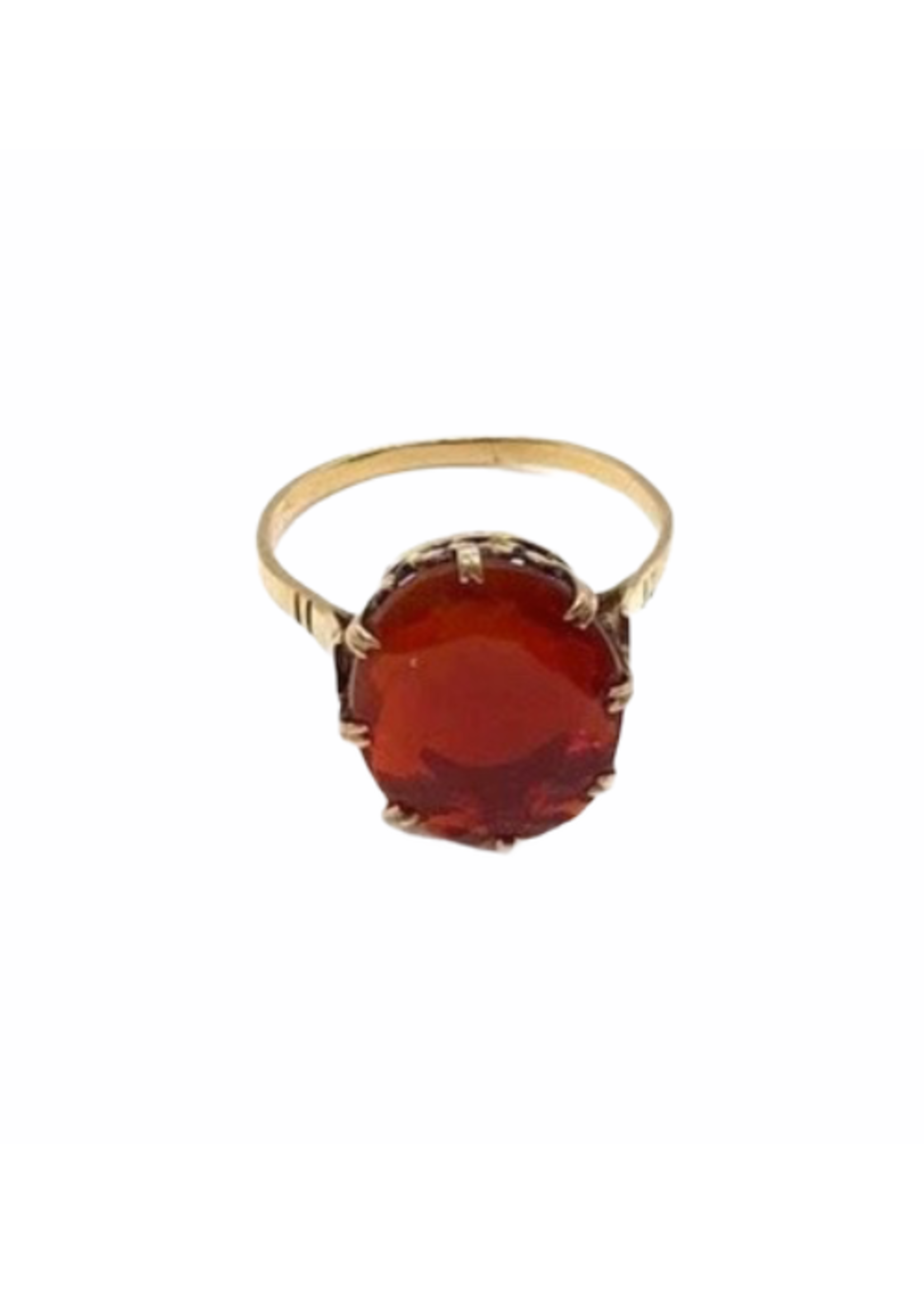 Jill Alberts Retro Fire Opal Ring