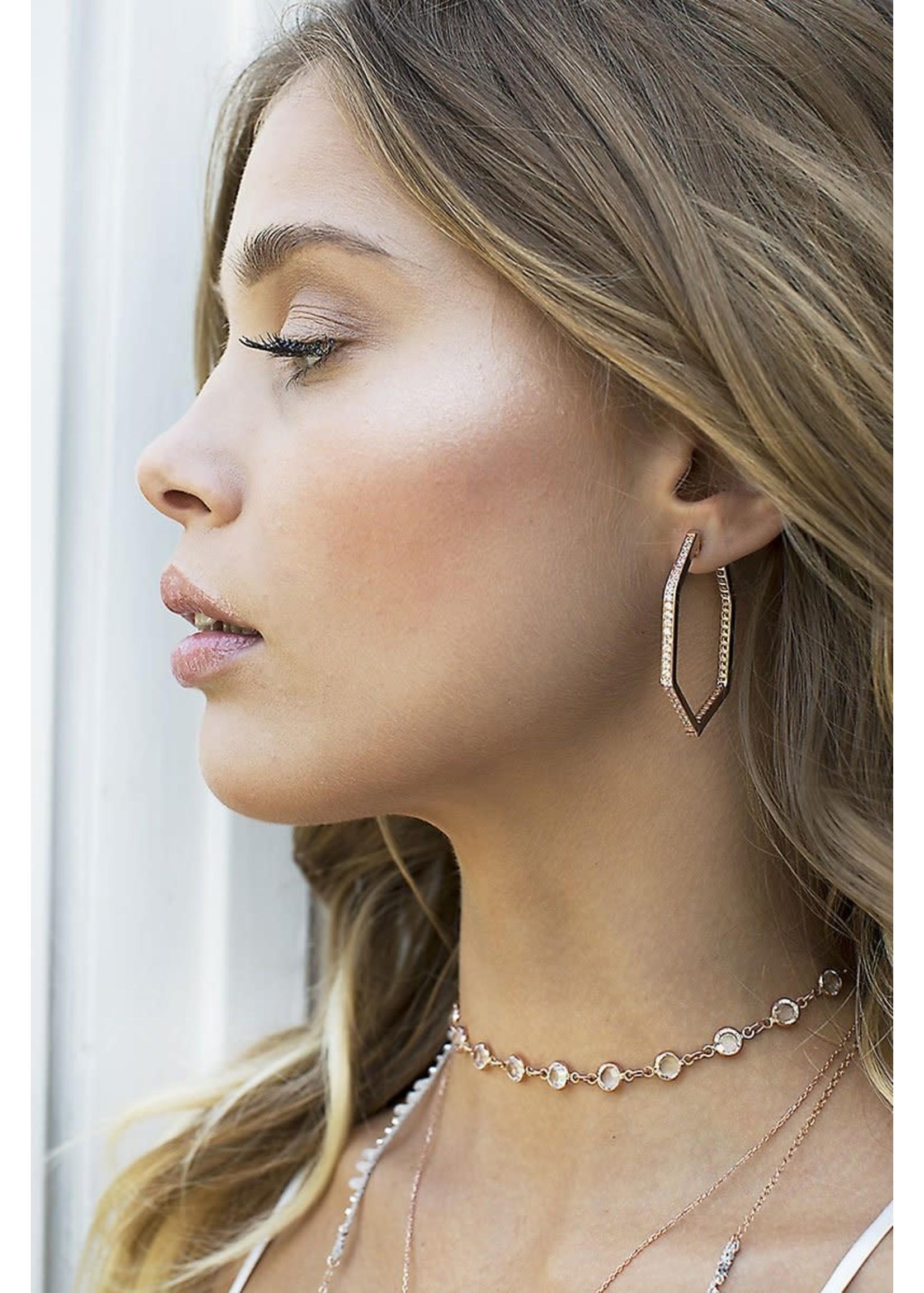 Native Gem Versatility Hoop Earrings