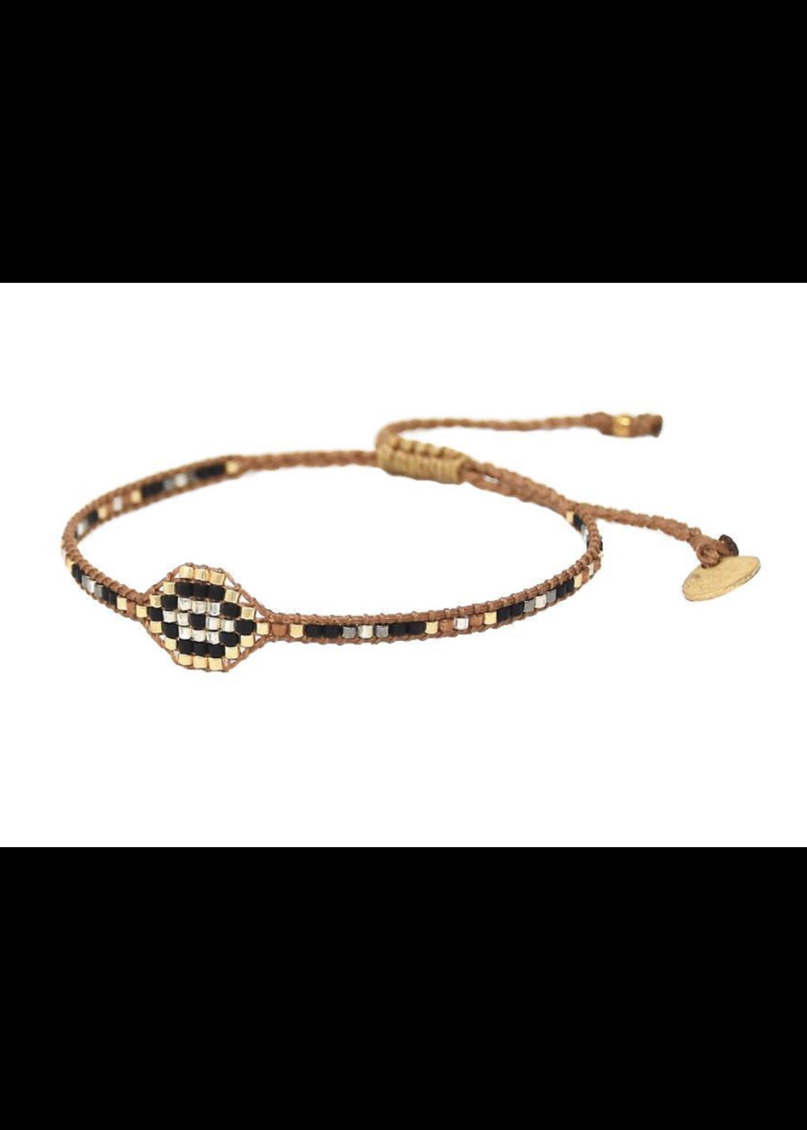Mishky Evil Eye Row 2.0 Bracelet