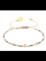 Mishky Rainbow Flower Pow Bracelet