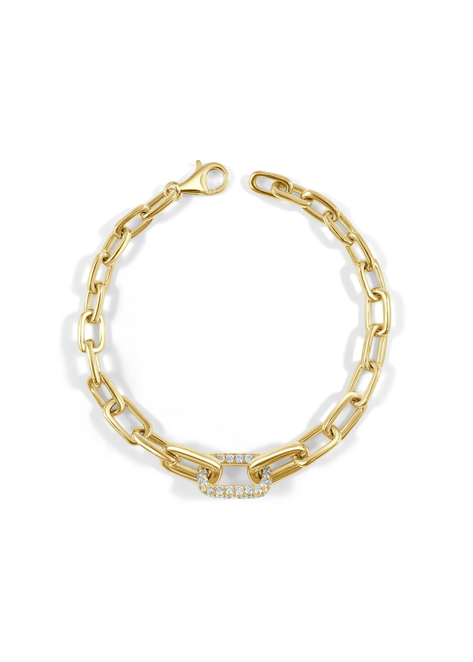 Jill Alberts Diamond Link Bracelet