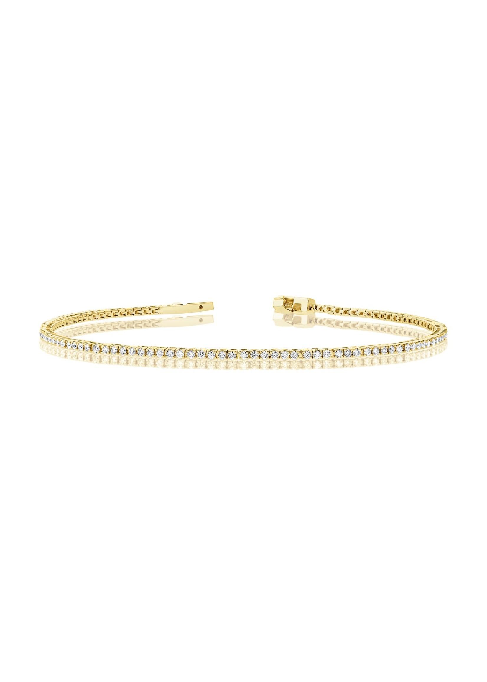 Jill Alberts Diamond Baby Tennis Bracelet
