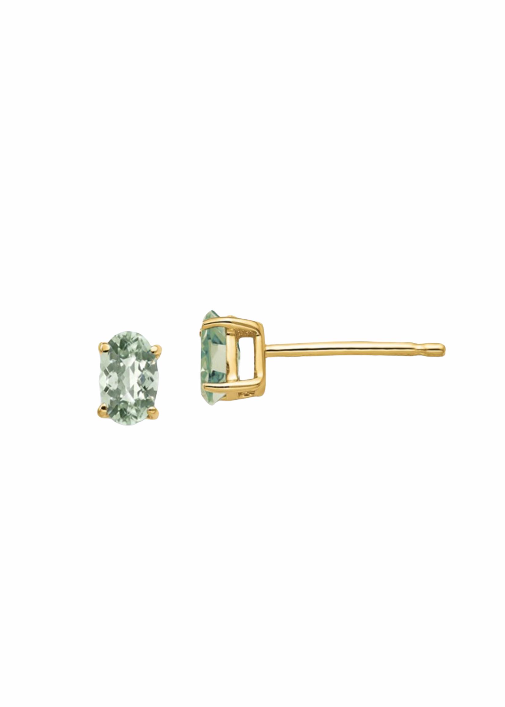 Jill Alberts Green Quartz Earrings