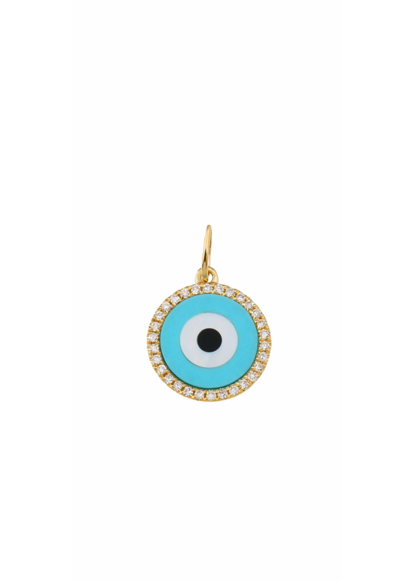 Jill Alberts Diamond Evil Eye Charm