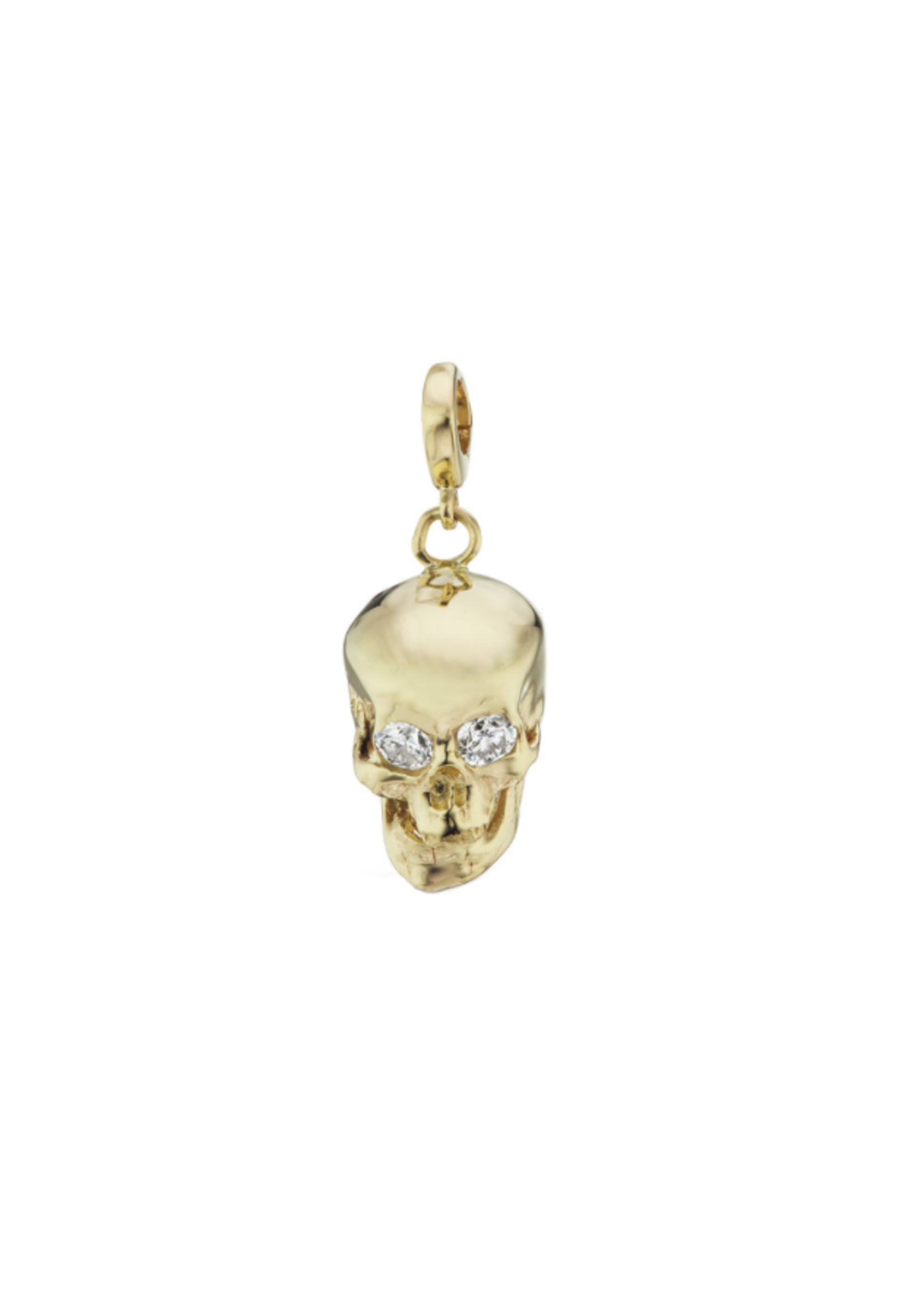 Have a Heart Diamond Skull Charm