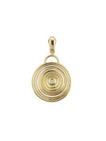 Have a Heart Spiral Charm