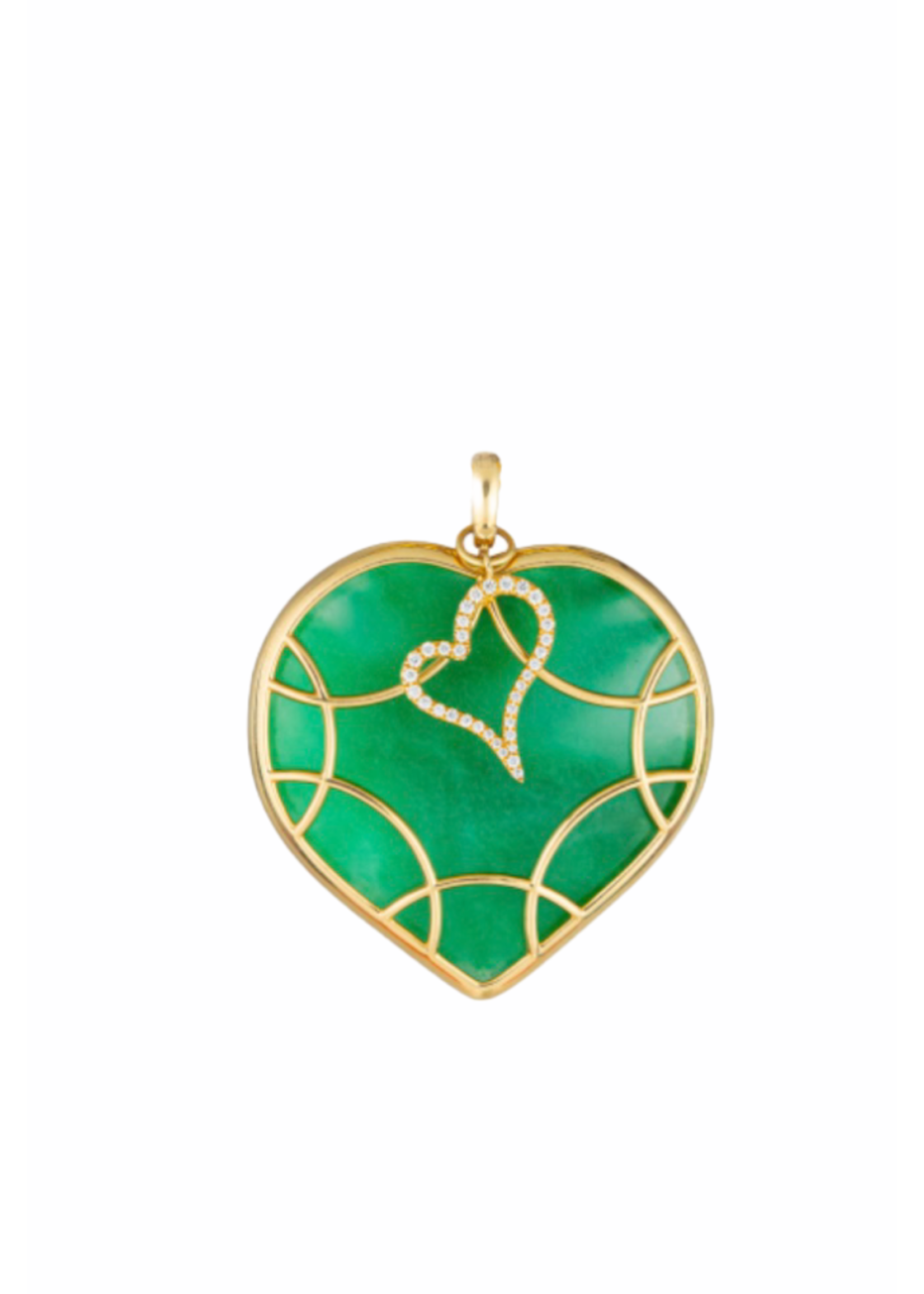 Have a Heart Columbian Emerald Heart