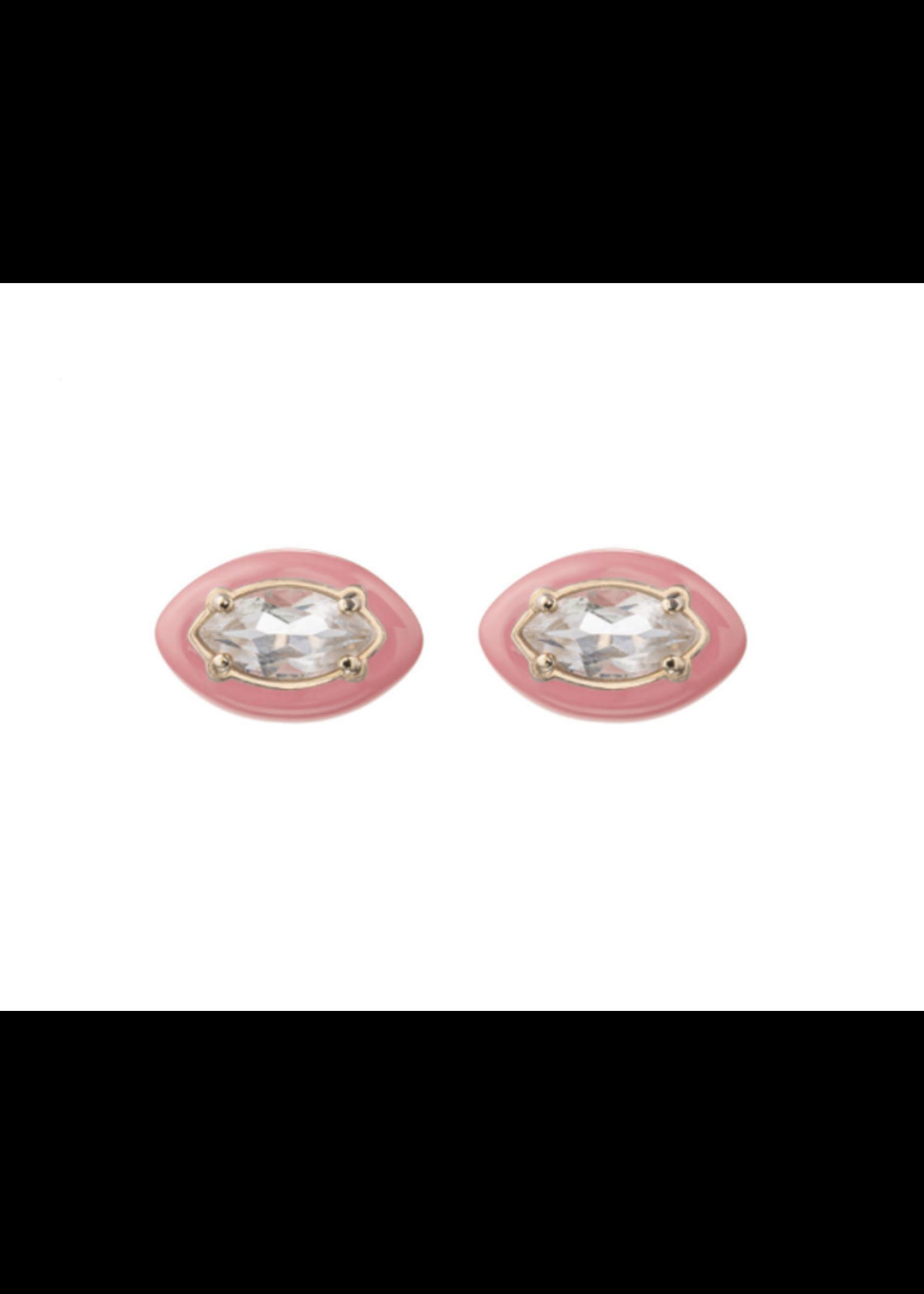 Bea Bongiasca Coral Pink Sweetness Earrings