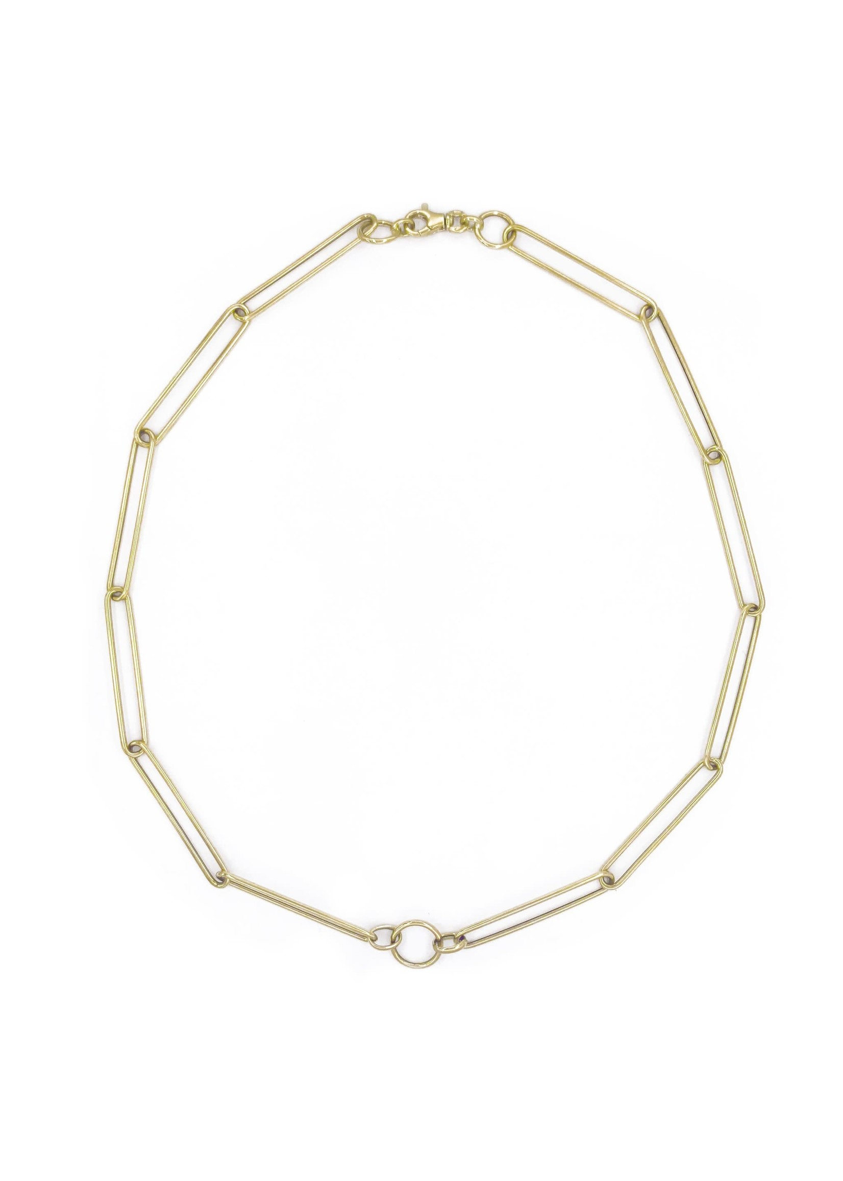 Jill Alberts Large Stretch Link Necklace