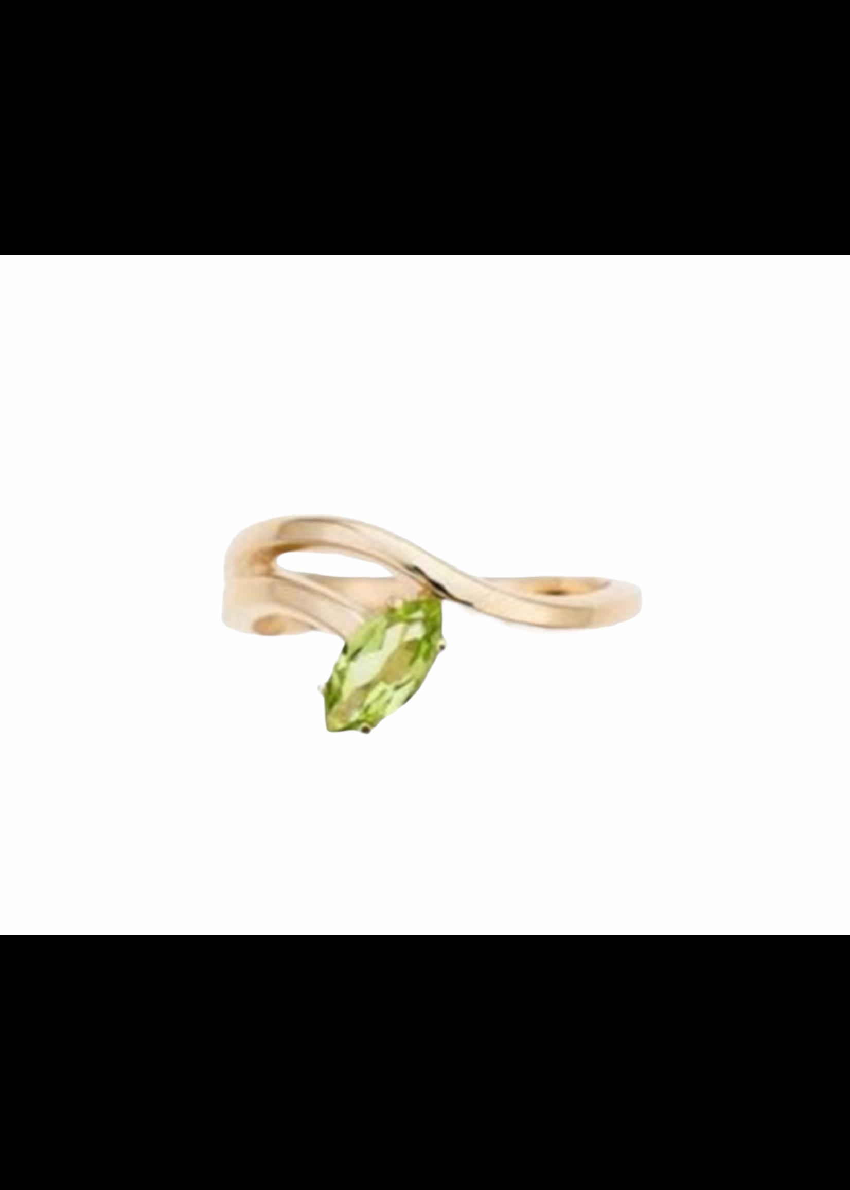 Bea Bongiasca Morning Star Lily Gold Ring