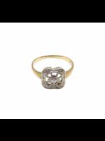 Jill Alberts Art Deco Spoke Diamond Ring