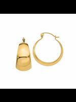 Jill Alberts Hoop Earrings