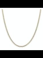 Jill Alberts Diamond Tennis Necklace