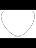 Jill Alberts Diamond Choker Tennis Necklace