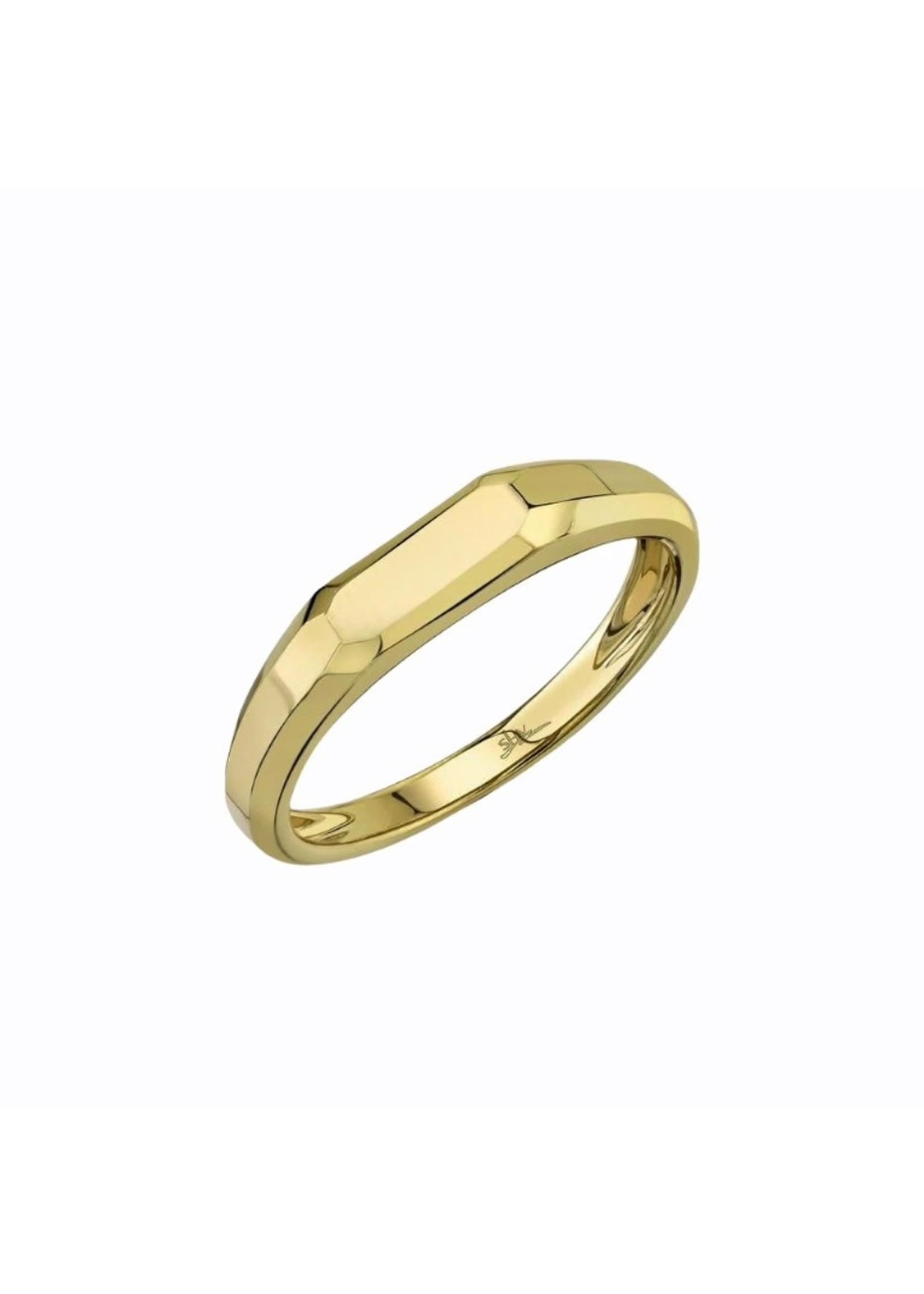 Jill Alberts Yellow Gold Band