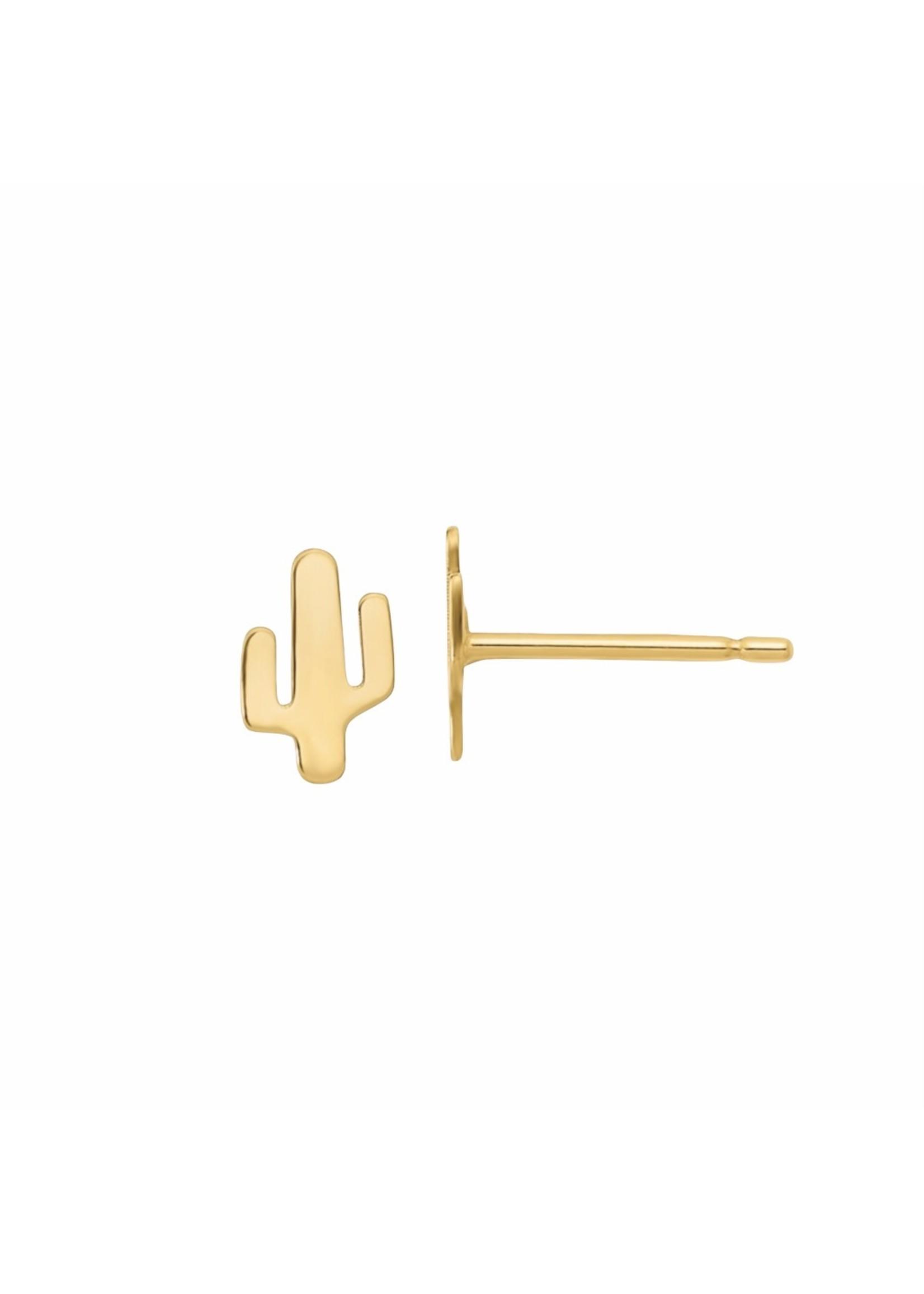 Jill Alberts Cactus Stud Earrings