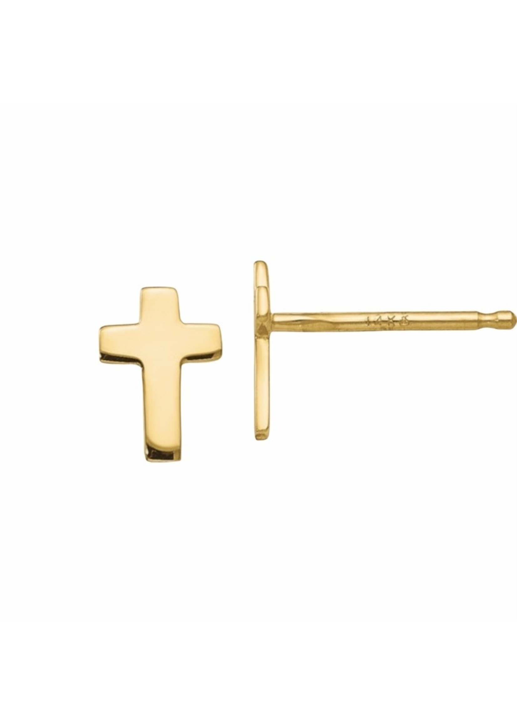 Jill Alberts Cross Stud Earrings