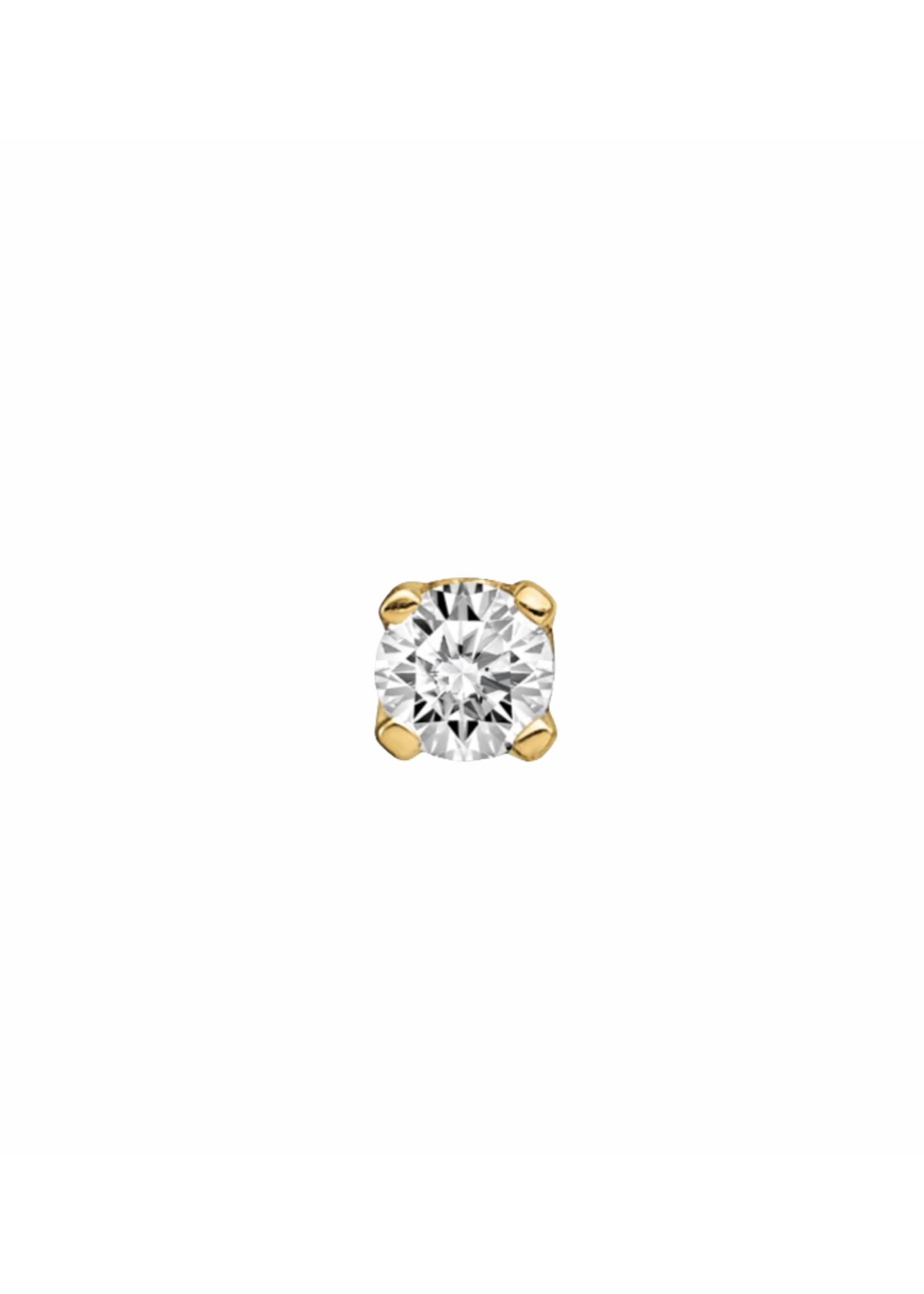 Jill Alberts Stud Diamond Earring