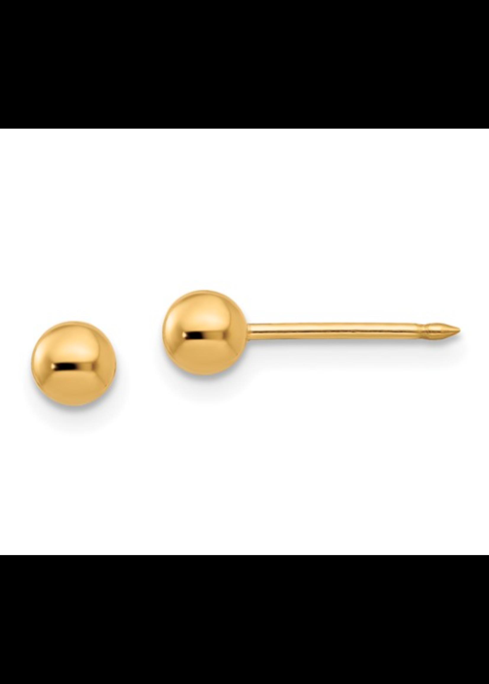 Jill Alberts Ball Post Earrings