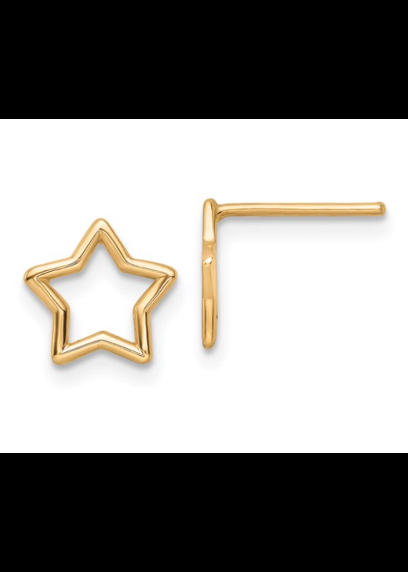 Jill Alberts Star Stud Earrings