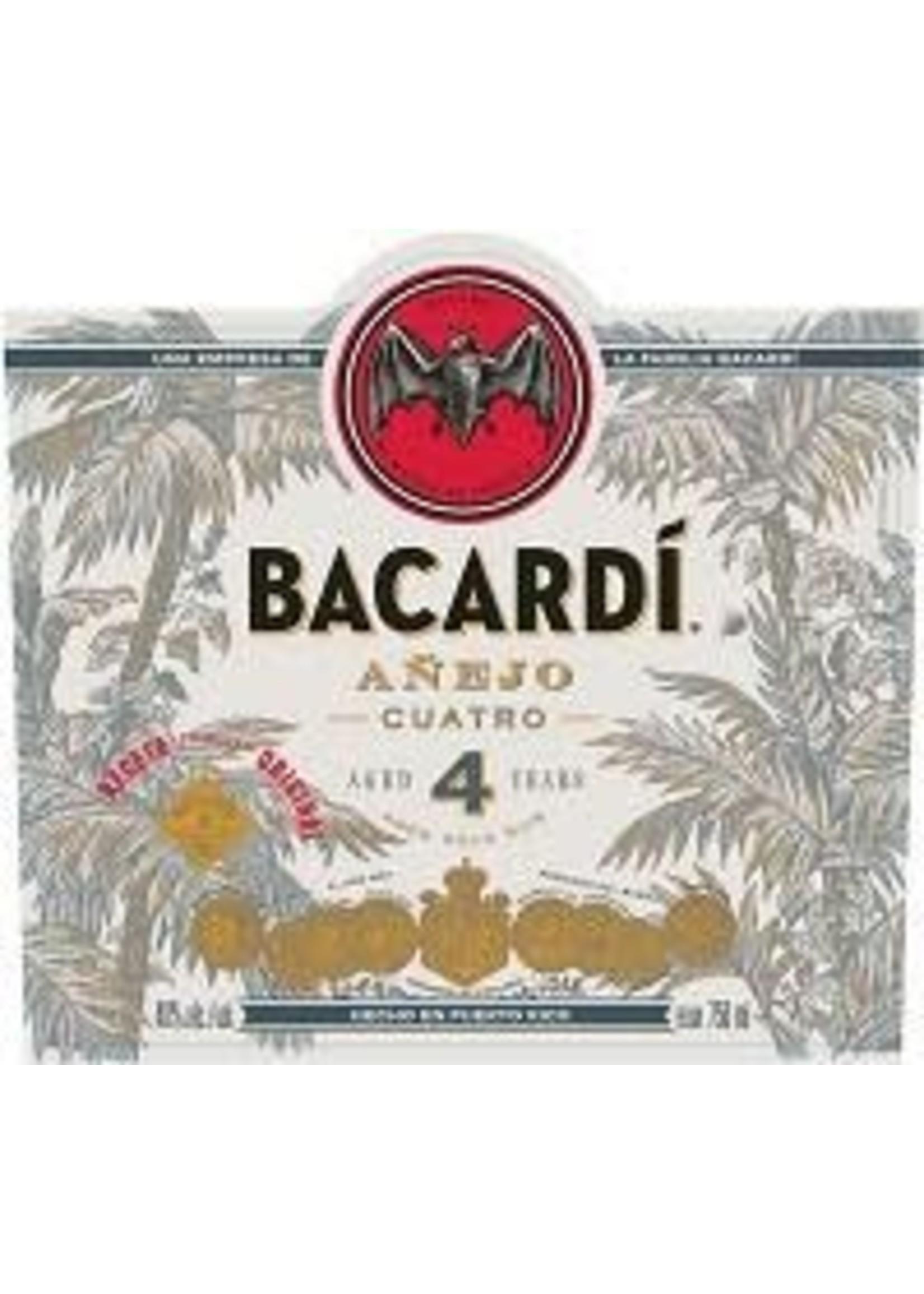 BACARDI Bacardi / Anejo Cuatro /1.0L