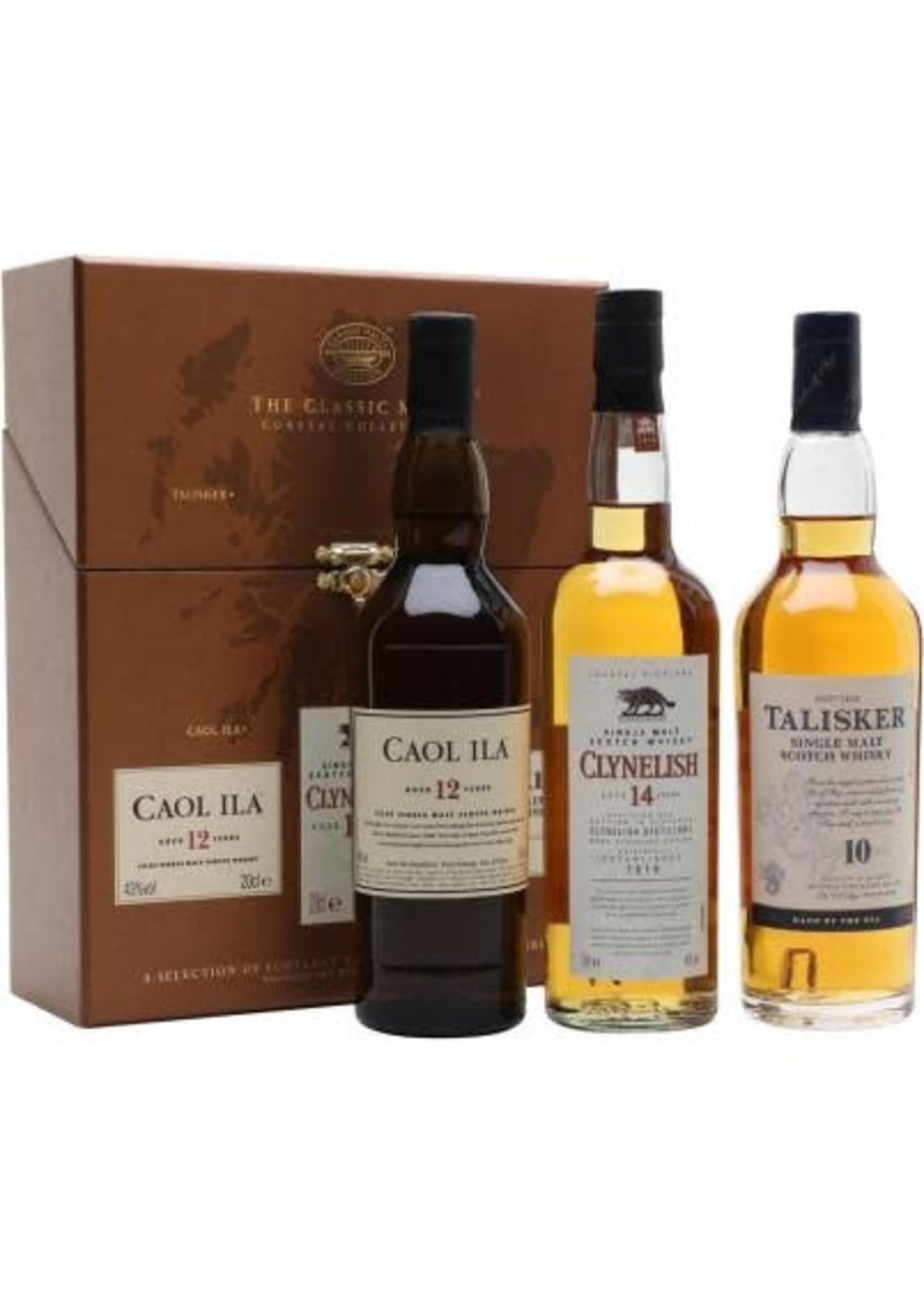 Diageo Classic Malts Selections / Coast (10 Year Old Talisker, 12 Year Caol Ila, 14 Year Clynelish)) / 200mL
