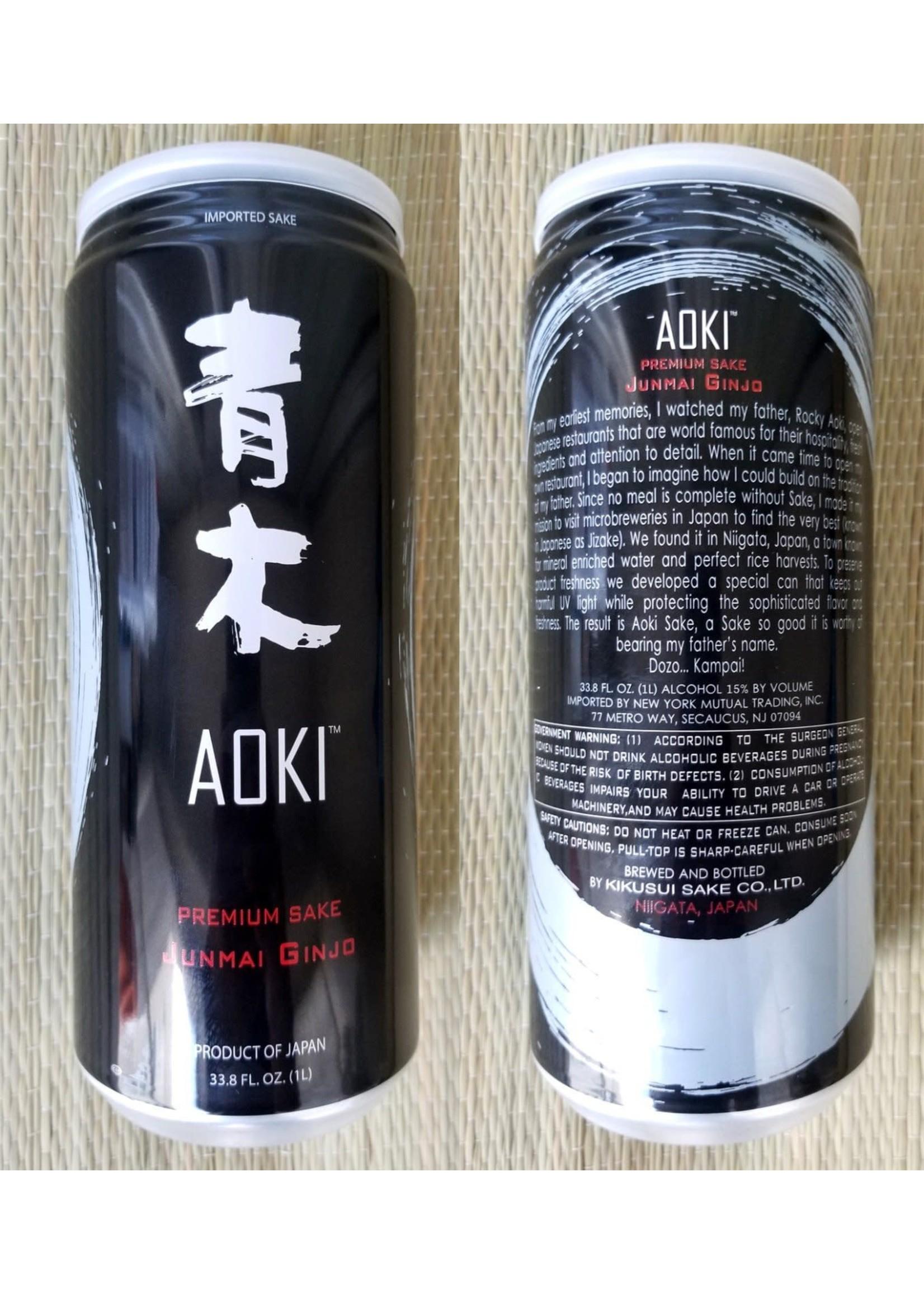 Aoki Aoki / Junmai Ginjo Premium Sake / 1.0L