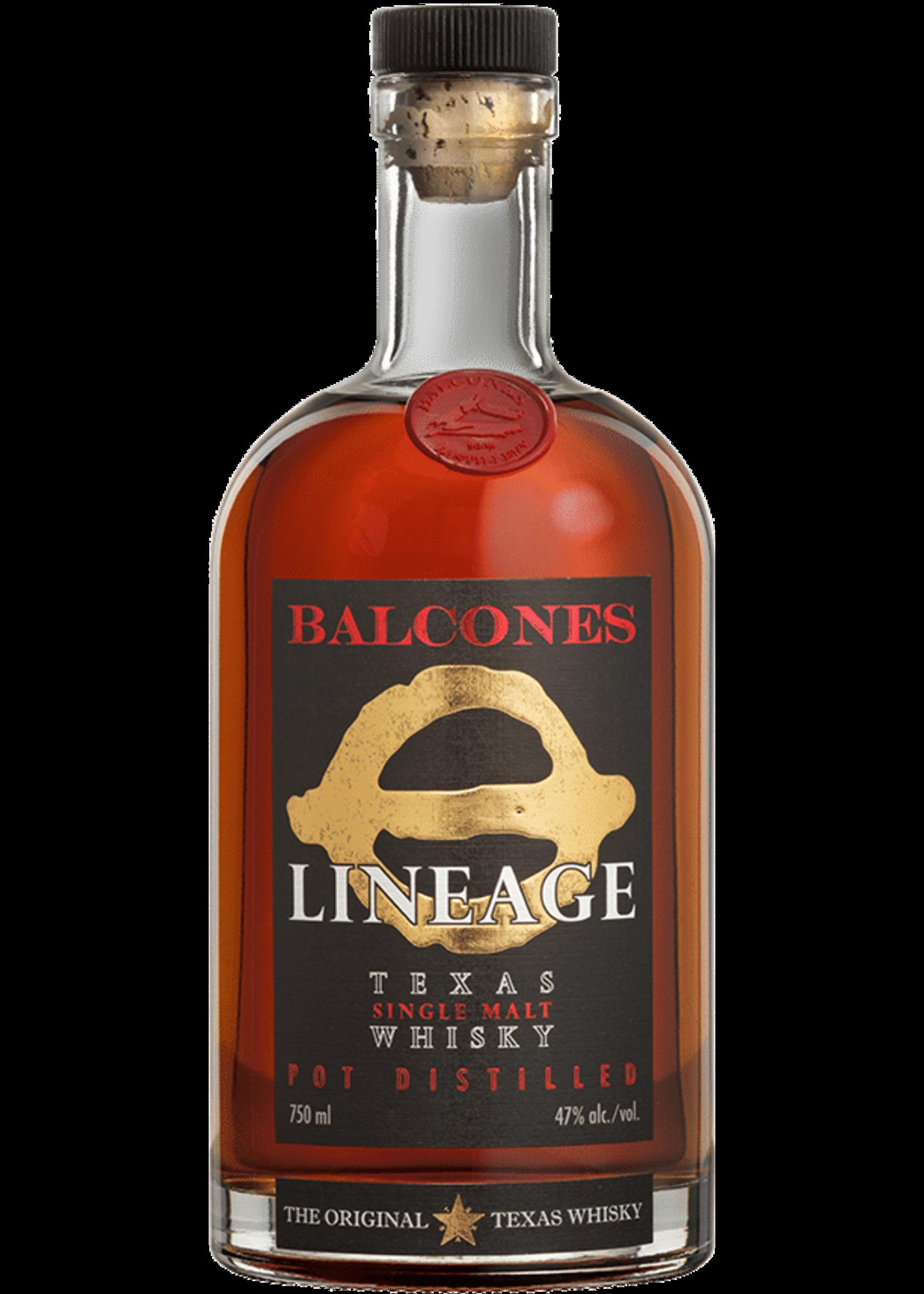 Balcones Balcones / Lineage Texas Single Malt Whisky / 750mL