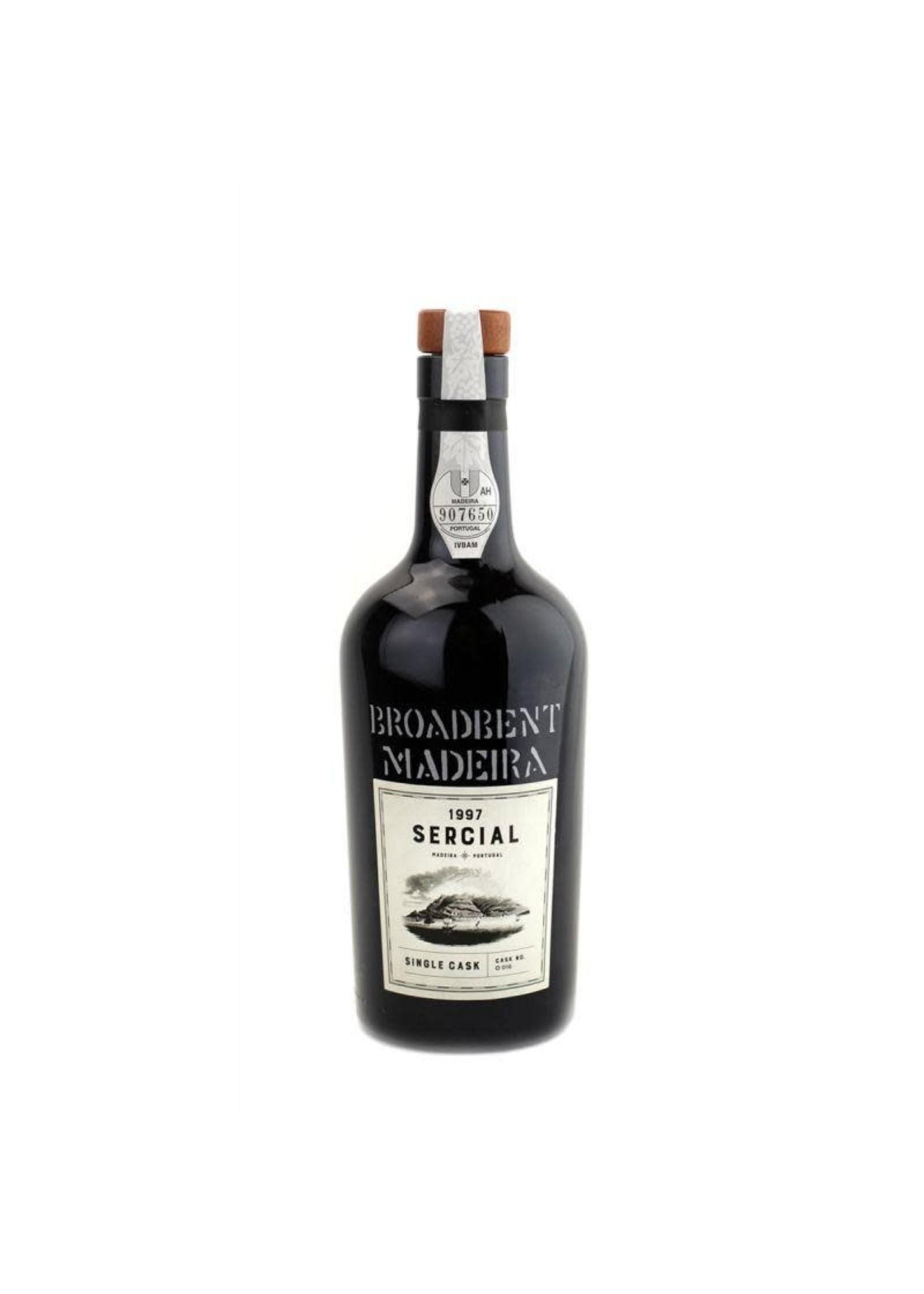 Broadbent Broadbent Madeira 1997 Single Cask Sercial
