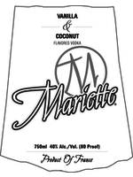 Mariette Mariette / Vodka Vanilla & Coconut / 750mL