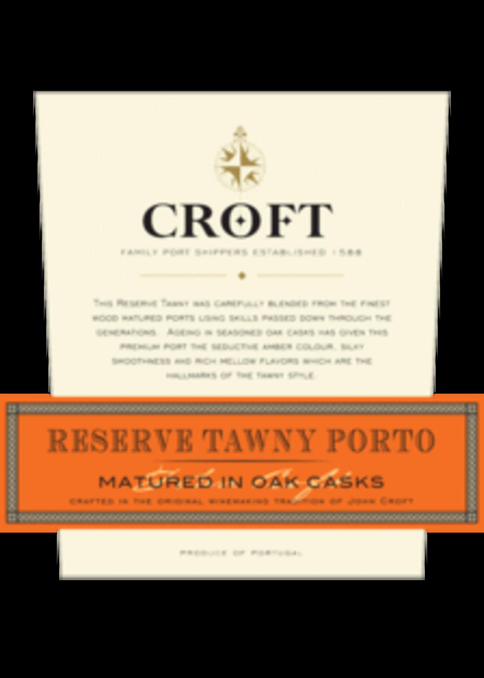 Croft Port Croft Port / Reserve Tawny Porto / 750mL