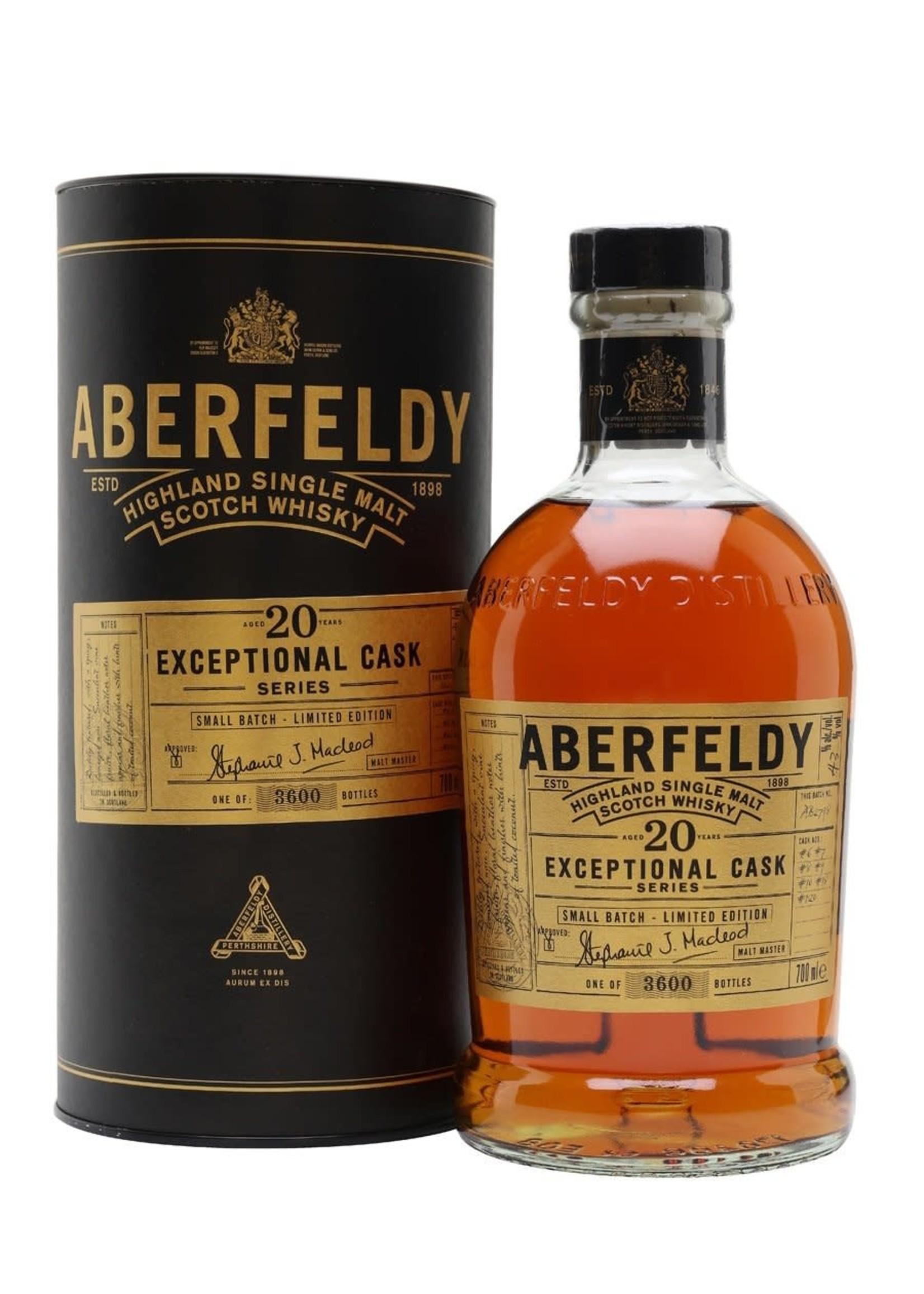 Aberfeldy Aberfeldy / 20 Year Exceptional Cask Series / 750mL