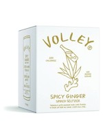 Volley Volley / Sharp Spicy Ginger Spiked Seltzer with 100% Agave Tequila / 4PACK