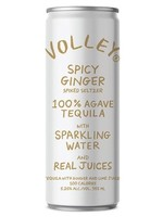 Volley Volley / Sharp Spicy Ginger Spiked Seltzer with 100% Agave Tequila / 355ml