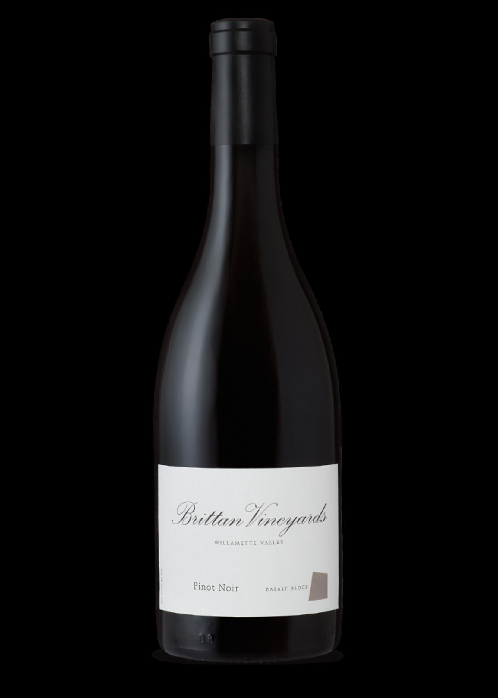 Brittan Vineyards Brittan Vineyards / Pinot Noir Basalt Block McMinnville  2015 / 750mL