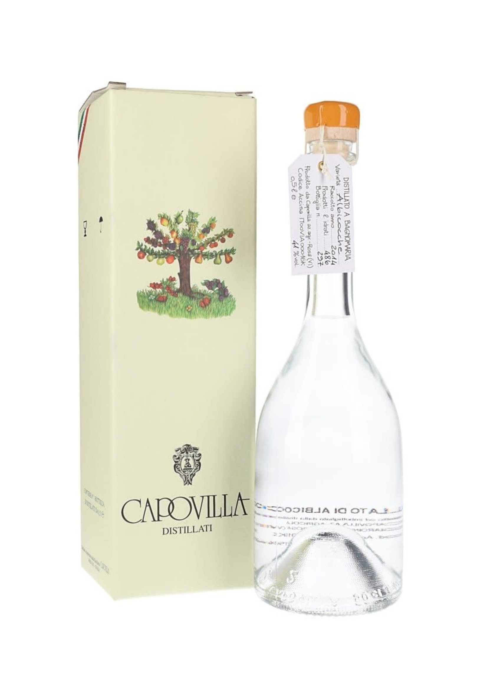 Capovilla Capovilla / Apricots distillate (NV) 375mL
