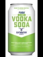 Cutwater Spirits Cutwater Spirits / Fugu Lime Vodka Soda / 355mL