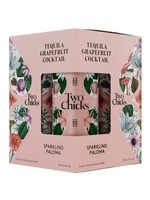 Two Chicks Two Chicks / Sparkling Paloma Tequila Grapefruit Cocktail / 355mL x 4Pack