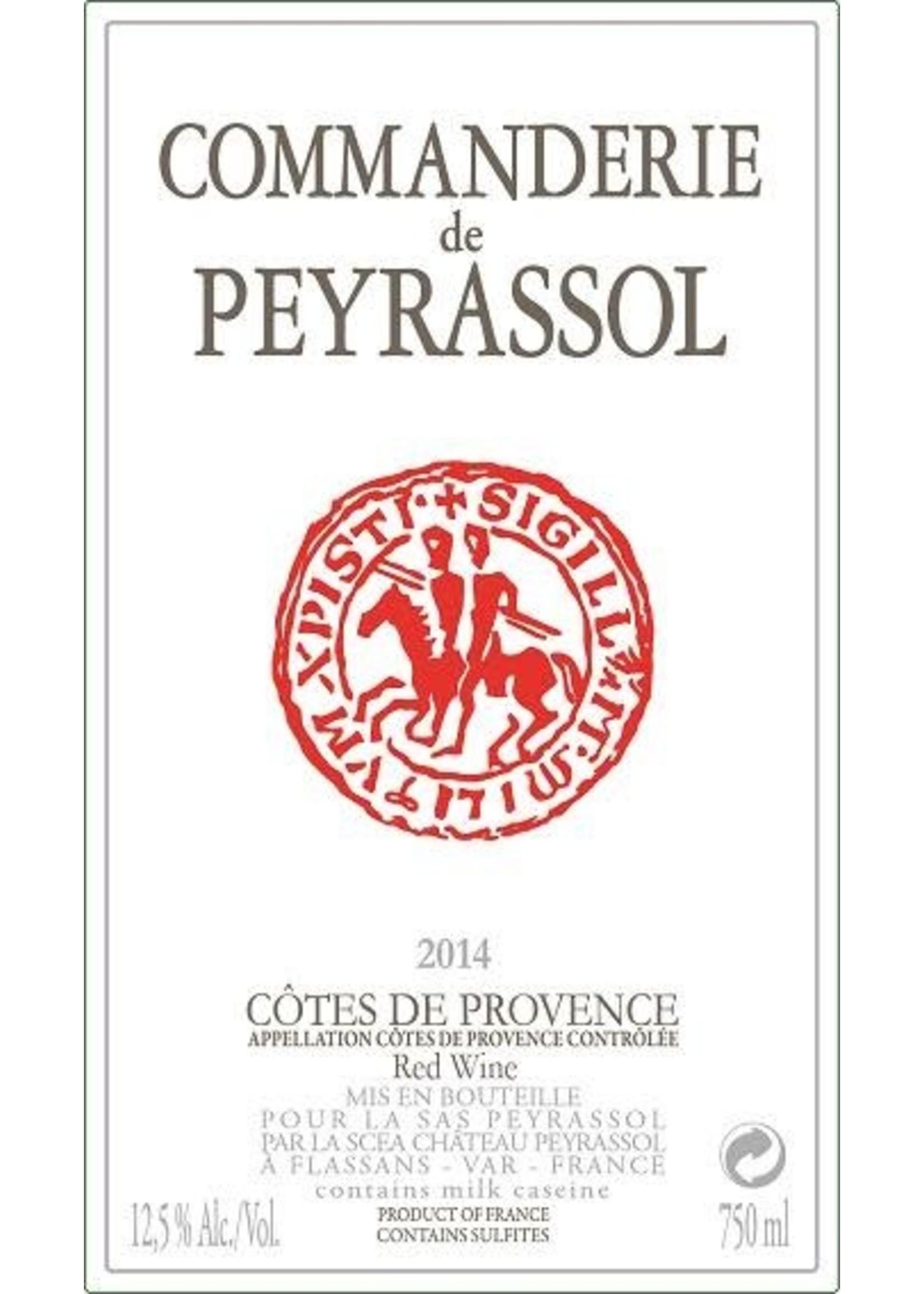 Commanderie de Peyrassol Commanderie de Peyrassol / Cotes de Provence Rouge / 750mL