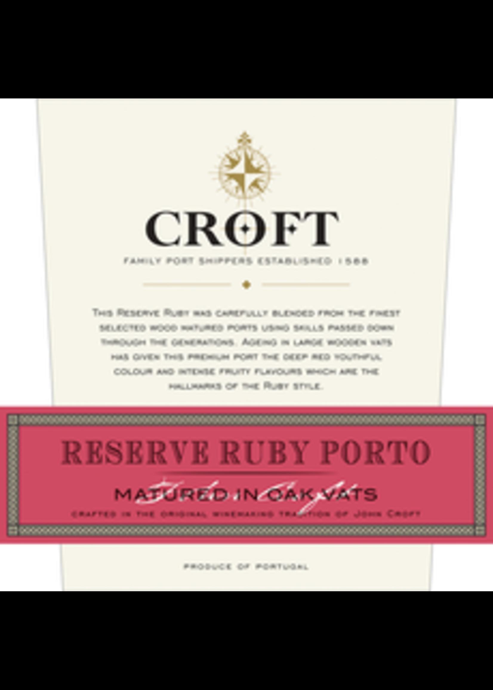 Croft Port Croft Port / Reserve Ruby Port / 750mL